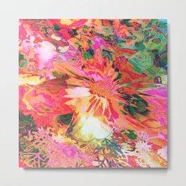 Flower Magnificence Metal Print