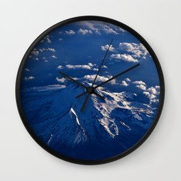 Mt. Hood Aerial Wall Clock