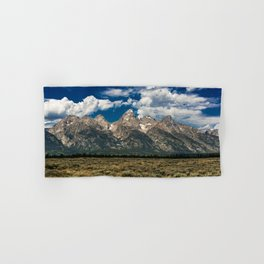The Grand Tetons - Summer Mountains Hand & Bath Towel