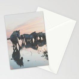 Camargue Horses I ... Stationery Cards