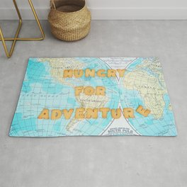 Hungry for adventure Rug