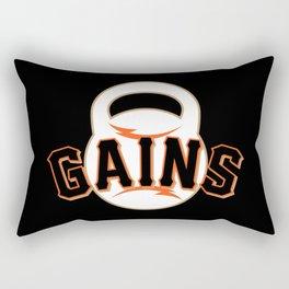 Giant Gains Rectangular Pillow