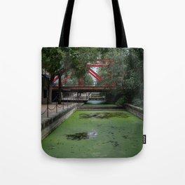 Red London Bridge Tote Bag