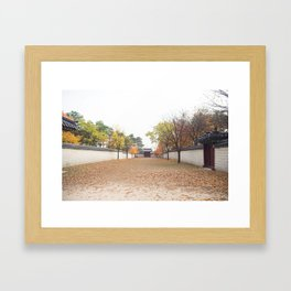 Gyeongbokgung Palace (경복궁) Framed Art Print