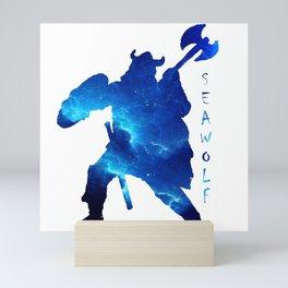 Viking Seawolf Mini Art Print