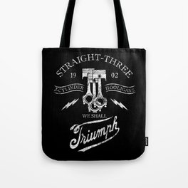 STRAIGHT 3 Tote Bag