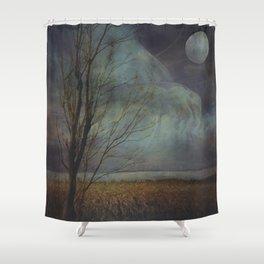 Still Evening Shower Curtain