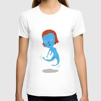 nightcrawler T-shirts featuring Mystique by Rod Perich