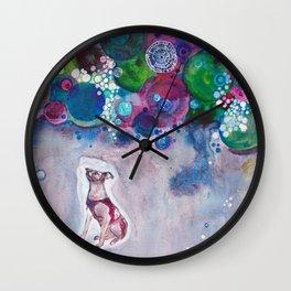 Laika, Canine Space Hero Wall Clock