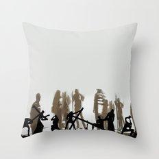 silhouette's Throw Pillow
