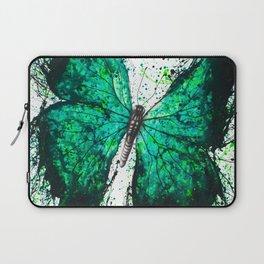 Night Garden Butterfly Laptop Sleeve
