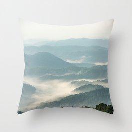 Blue Ridge Parkway - Shenandoah National Park Throw Pillow