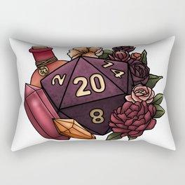 Sorcerer Class D20 - Tabletop Gaming Dice Rectangular Pillow
