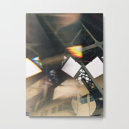 Distortion and Flare Metal Print
