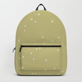 Mystic Stars on Lime Green Backpack