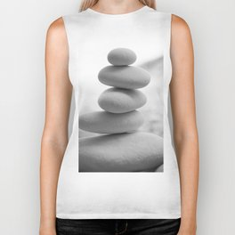 Zen beach rocks print, balancing rocks, mnimalist Beach decor, wall art Biker Tank