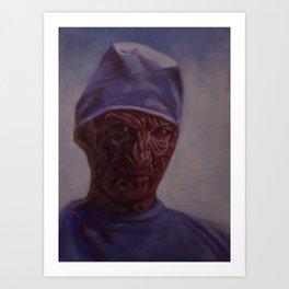 Dr. Freddy Art Print