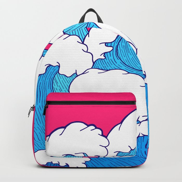 As the waves roll in Backpack
