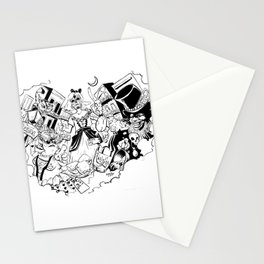 Alice in NOLALand Stationery Cards