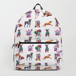 Rainbow Dogs Everywhere Backpack
