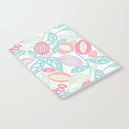 Pastel Fruits Notebook