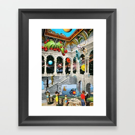 Three Minutes to Nirvana Framed Art Print