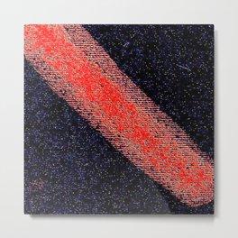 Red black ing Metal Print