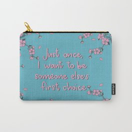 Lara Jean Carry-All Pouch