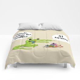 Bebé cocodrilo Comforters