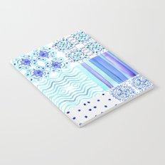 Amalfi Coast Tiles Notebook