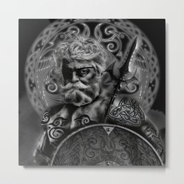 FATHER ODIN Metal Print