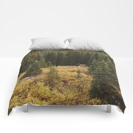 Rocky Mountain Creek Elk Comforters