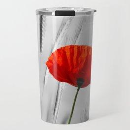 Poppy Red 070 Travel Mug