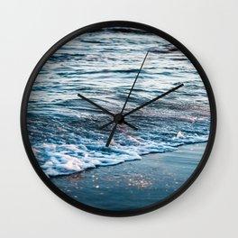Beautiful ocean waves Wall Clock