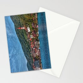 Lakefront Provincial Town Stationery Cards