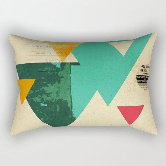Monster Teeth II Rectangular Pillow