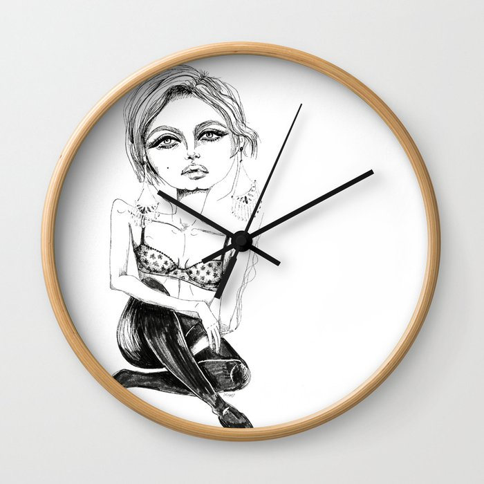 Not the Best State of Mind Wall Clock