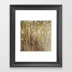 floral abstrakt Framed Art Print