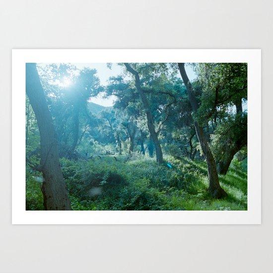 Green Forest I Art Print