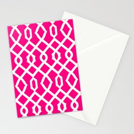 Grille No. 3 -- Magenta Stationery Cards