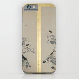 Itō Jakuchū - The Thirty-Six Immortal Poets (1798) iPhone Case