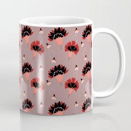 Coral Vintage Coffee Mug