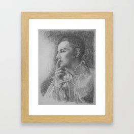 Hyrum is Hamlet Framed Art Print