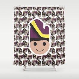 Iconic Headdresses - West Sumatra (Male Version) Shower Curtain