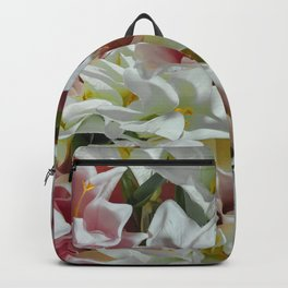 Pastel lilies Backpack