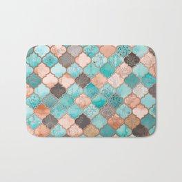 Moroccan pattern artwork print Bath Mat