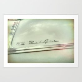 Classic Car Detail photograph Art Print