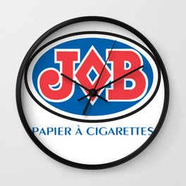 JOB 2 rolling papers Wall Clock