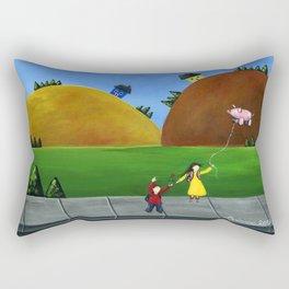 Hilly High Rectangular Pillow