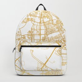 AMSTERDAM NETHERLANDS CITY STREET MAP ART Backpack